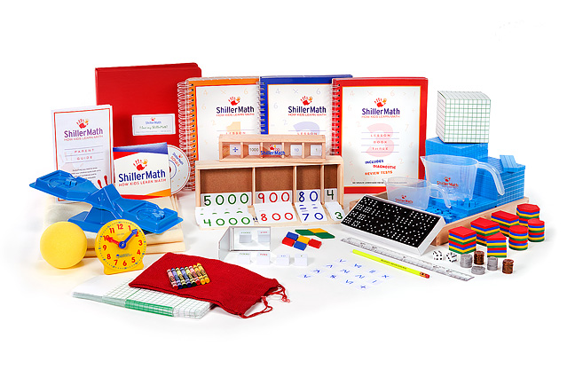 Math Kit I (pre-K through 3rd grade)