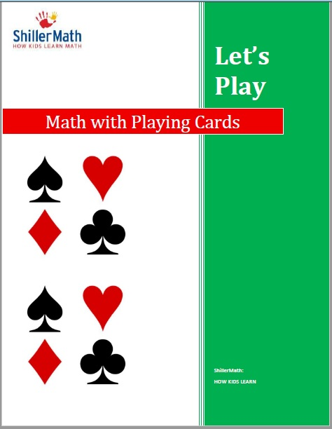 ShillerMath eBook Let's Play: Math with Playing Cards